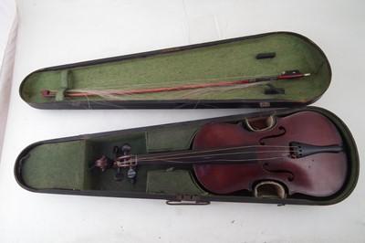 Lot 7-Murdoch The Maidstone violin in case