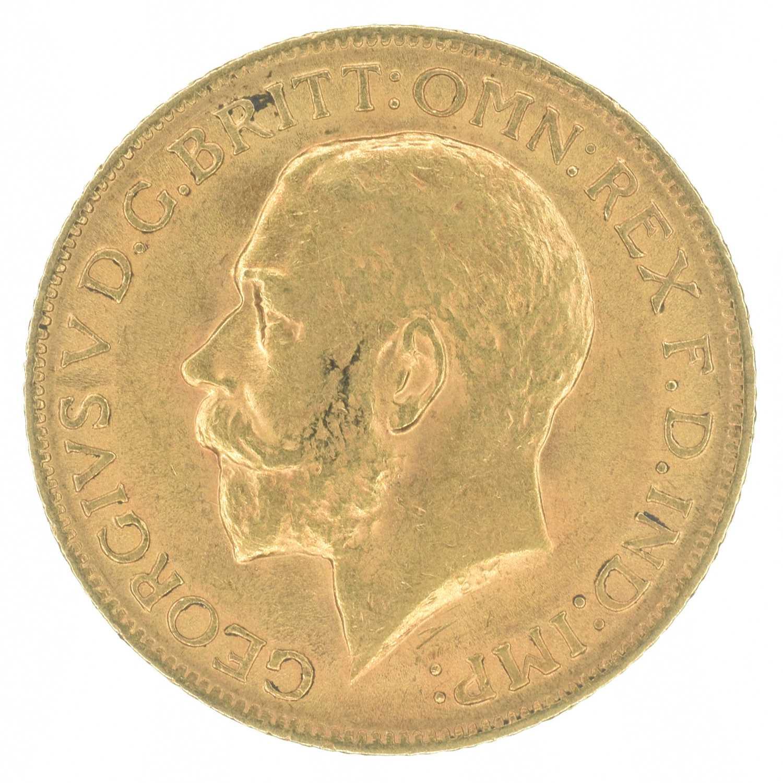 Lot 41-King George V, Sovereign, 1912, London Mint.