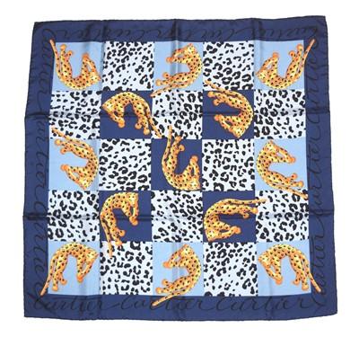 Lot 74 - A Cartier silk scarf