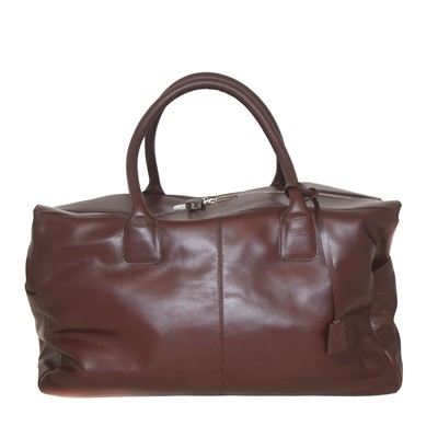 Lot 59 - A Molton Brown leather luggage bag