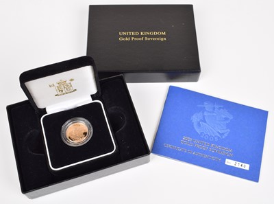 Lot 84-2005 Royal Mint, Proof Sovereign.