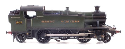 Lot 6-Bassett Loake O Gauge electric 2-6-2 loco, in Great Western livery.