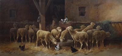 Lot 22-Jules Bathieu (Belgian 1880-1920)