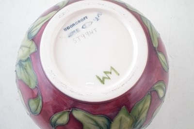 Lot 196 - Moorcroft vase