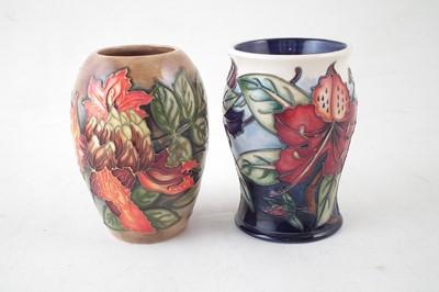 Lot 140 - Two Moorcroft vases