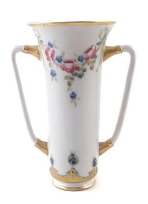 Lot 145 - Macintyre Moorcroft twin handled vase