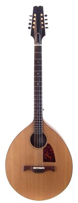 Lot 9-Martin David White bouzouki