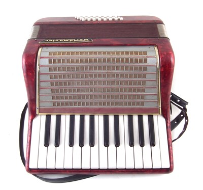 Lot 38-World Master piano accordion