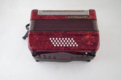 Lot 38-World Master piano accordion