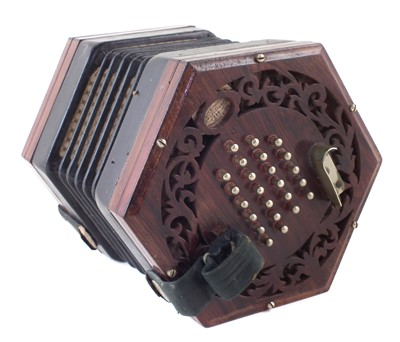 Lot 39-Jones English concertina