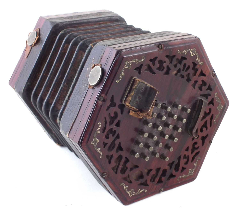 Lot 40-Lachenal concertina