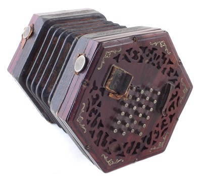 Lot 40-Lachenal concertina
