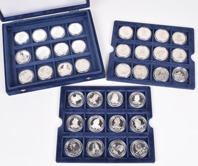 "Lot 12-A Westminster Mint ""Kings and Queens of Great Britain Coin Collection"" and one other (36)."