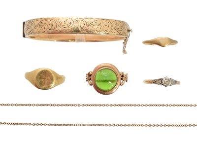 Lot 126 - A selection of jewellery