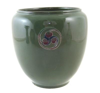 Lot 156 - Moorcroft Flamminian ware vase