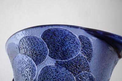 Lot 158 - Moorcroft Florian ware twin handled vase