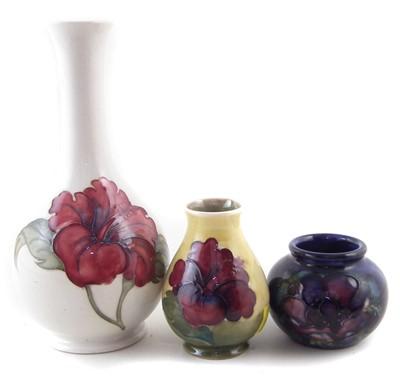 Lot 200 - Three Moorcroft vases