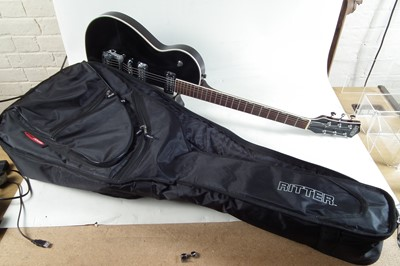 Lot 2-Gretsch Electromatic guitar with case