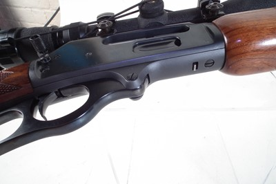 Lot 52-Marlin 45-70 lever action rifle
