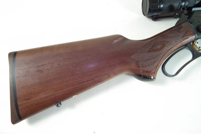 Lot 53-Marlin .22lr lever action rifle