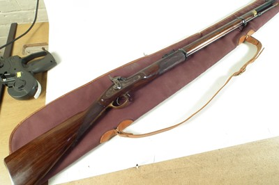 Lot 54 - Parker Hale .451 percussion muzzle loading rifle