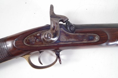 Lot 54-Parker Hale .451 percussion muzzle loading rifle