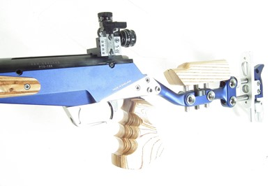 Lot Barnard System Gemini .308 bolt action rifle