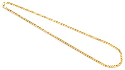 Lot 60 - A 9ct gold chain necklace