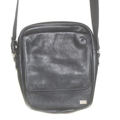 Lot 101 - A Dunhill leather messenger bag