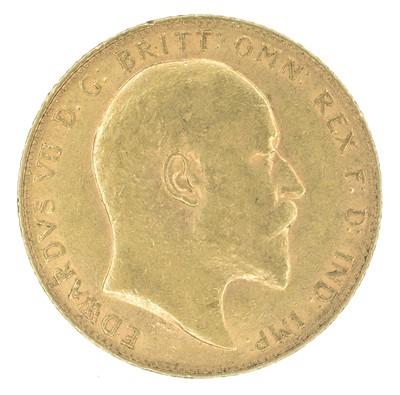 Lot 96-King Edward VII, Sovereign, 1906, London Mint.