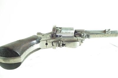 Lot -Belgian Pinfire revolver