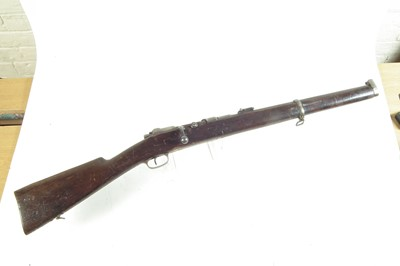 Lot 48-Turkish Mauser 71 carbine