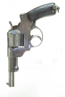 Lot 5-French M.1873 revolver and holster