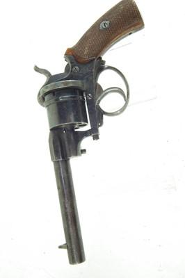 Lot 7-Belgian pinfire revolver