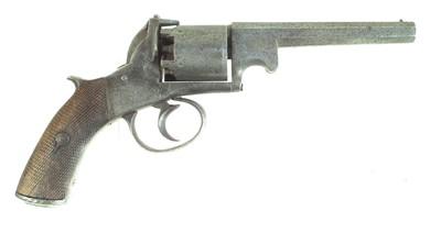 Lot 8-Webley / Bentley type percussion revolver