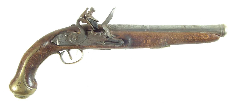 Lot 30-Flintlock pistol