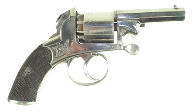 Lot 10-Webley Bentley percussion revolver