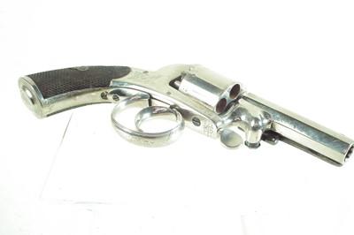 Lot 10-Webley Bentley percussion revolver