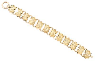 Lot 3 - A Victorian bracelet