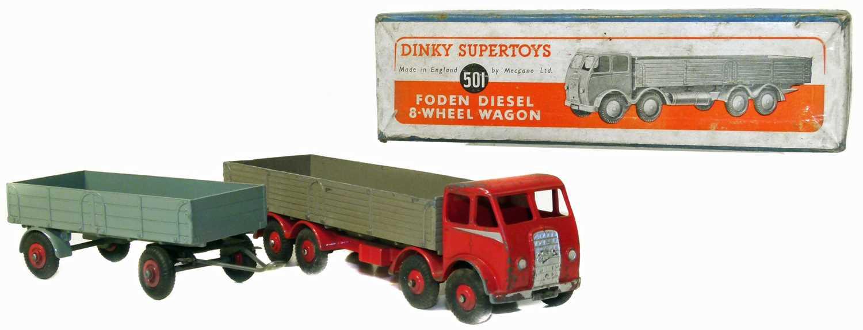 Lot 25-Dinky Supertoys wagon