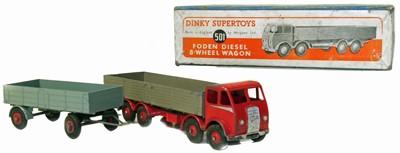Lot 115 - Dinky Supertoys wagon