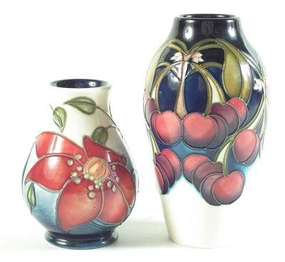 Lot 135 - Two Moorcroft vases