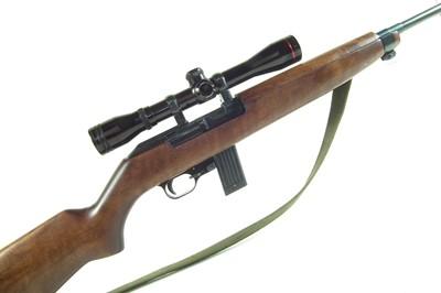 Lot 66 - Erma .22 M1 Carbine semi automatic rifle