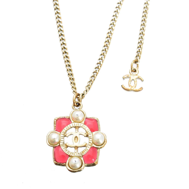 Lot 3 - A Chanel pendant necklace