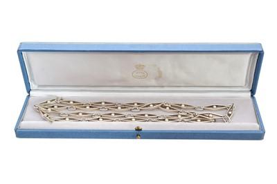 Lot 111 - A silver Georg Jensen necklace, no. 285