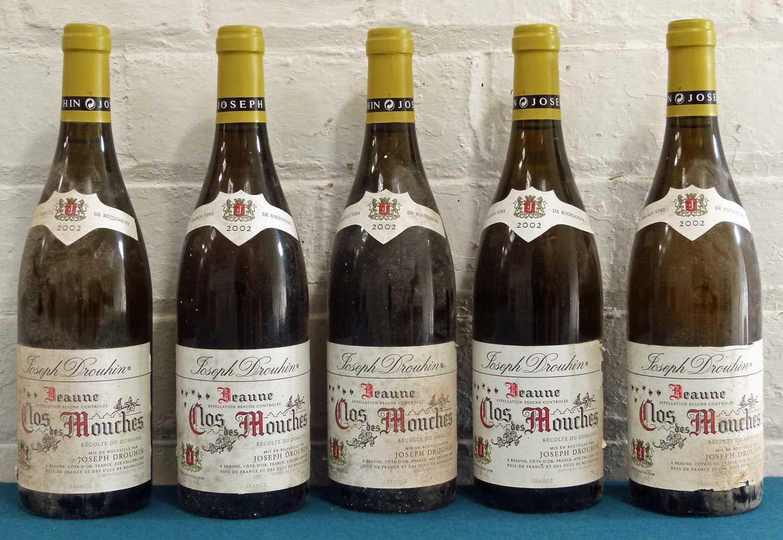 Lot 9 - 5 Bottles Beaune 'Clos des Mouches' Domaine Joseph Drouhin 2002