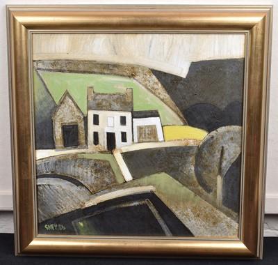Lot 1-Geoffrey Key (British 1941-)