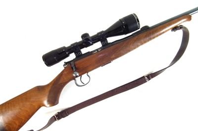 Lot 43-Brno .22lt bolt action rifle