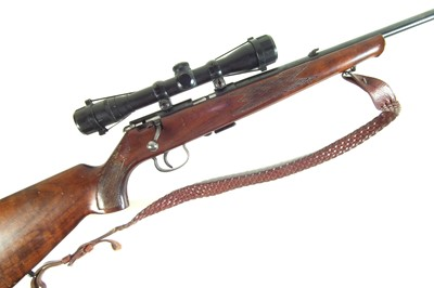 Lot 45-Anschutz Model 1415-16 .22lr bolt action rifle