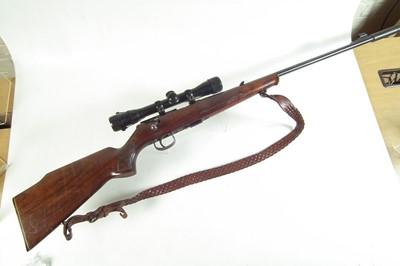 Lot 45-Anschutz Model 1415-16 .22lr bolt action rifle